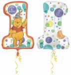 Fóliový balónek Medvídek Pú 1 48 x 71 cm