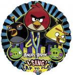 Hrající foliový balónek Angry Birds 71cm