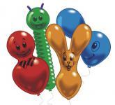 Balonek postavičky mix, 10 ks