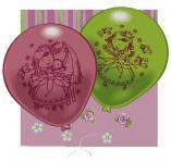 Balónky s potiskem Sweet Little Princess, 10 ks