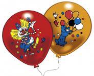 Balónky s potiskem KLAUN, 8 ks