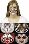 Maska - nálepka na obličej 1ks