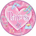 Princess talíře 8ks 17,8cm