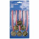 Medaile 6 ks
