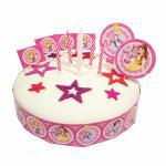 Princess dekorace na dort 19ks