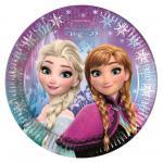 Frozen Polární záře talíře 20 cm 8 ks