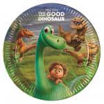 Hodný dinosaurus talíře 23  cm 8ks