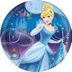 Popelka Disney talíře 8ks 20cm