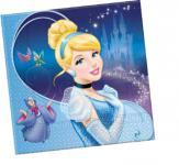 Popelka Disney ubrousky 20ks 2-vrstvé 33x33cm