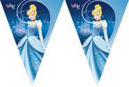 Popelka Disney party vlajka 11ks