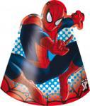 Spiderman čepičky 6ks