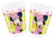 Minnie Mouse kelímky 8ks 200ml