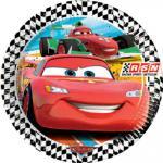 Cars talíře 8ks19,5 cm