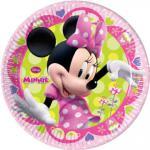 Minnie Mouse talíře 8ks 20cm