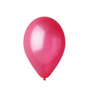 Balónky GM90/32– metalická červená, 1 ks
