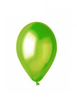Balónky GM90-67 – metalická světle zelená, 1 ks