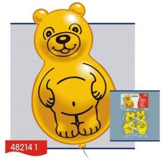 Balónky medvídek, 2 ks