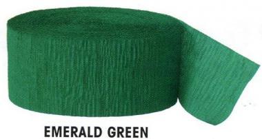 Krepový papír Green 24,6m x 4,4cm